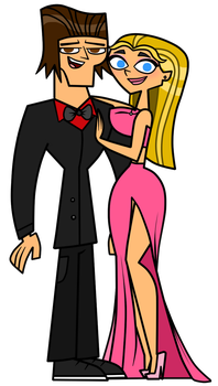 Lindsay and Tyler - Pink Prom by EvaHeartsArt