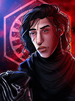 Kylo Ren by Chrisily