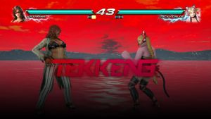 TEKKEN 3 Inspired Health Bar by MudassarRiaz