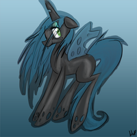 Chrysalis Speed Painting by blup-chan