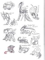 ::CLOSED:: Creature Combinations by lizziecat1279