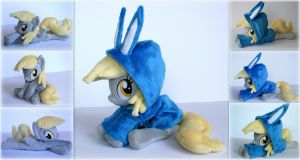 My Little Pony - Derpy with Bunny Hoodie - Plush by Lavim