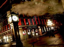 Gastown Steam Clock by Sunhillow
