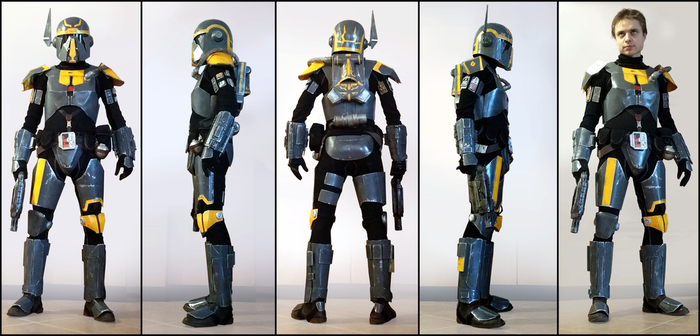Bounty Hunter Powertech SWTOR by AraxussYexyr