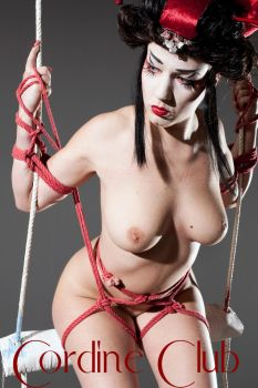 shibari with Nikla Black 14 by CordineClub