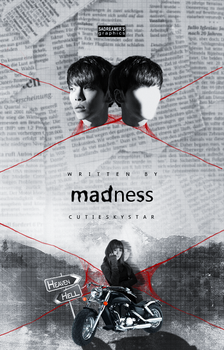 Madness| Wattpad Cover by sadreamer01