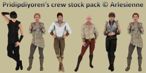 Exclusive stock pack for Pridipdiyoren by Arlesienne