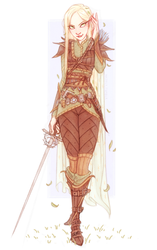 RoseArtemis's Dungeons and Dragons Half Elf by Naimly