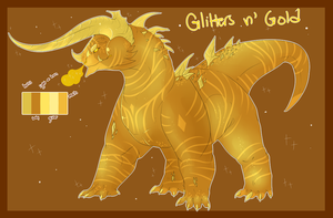 OTA Glitters N Gold Adoptable Closed by guIIs