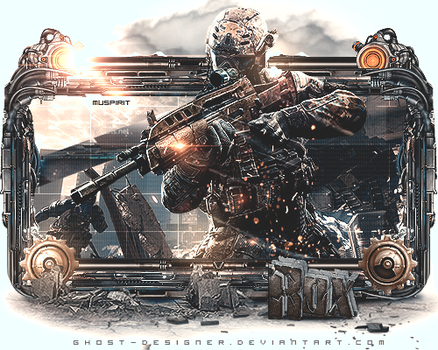 Sign Tech - Call of Duty by Ghost-Designer