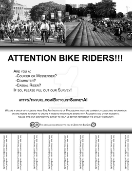 Bike Survey Flyer