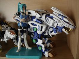 Liger blue souga and pilot by VigBrastle