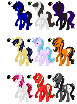 Themed Adoptables II (CLOSED) by Velvets-Adopts