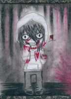 Chibi Jeff the Killer! by SilenceYourFears
