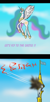 LET'S FLY TO THE CASTLE !! by Lucandreus