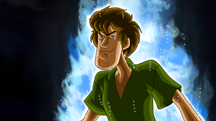 Ultra Instinct Shaggy by MielSibel10032002