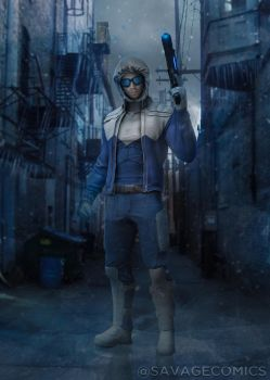 Dceu Captain Cold - Cam Gigandet by SavageComics