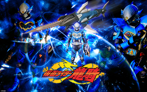 Kamen Rider Abyss Wallpaper by malecoc
