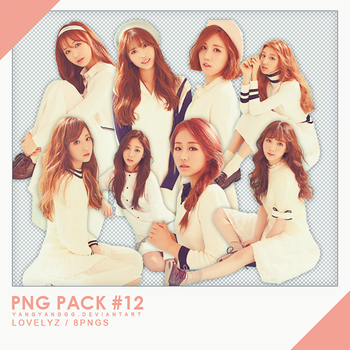 PNG PACK#12 - Lovelyz 8PNGs - By Yangyanggg by Yangyanggg