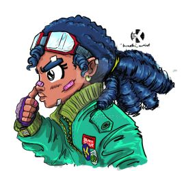 Goggle Girl by kaseddy
