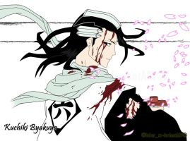 Bleach - Kuchiki Byakuya color by knight-sx
