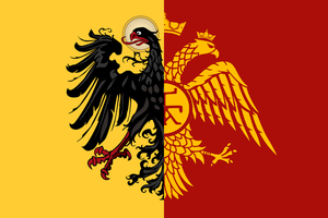 Heirs of the Roman Empire - Fictional Flag by CaptainVoda