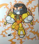 TFcon preorder commission - Sunstorm by MattMoylan