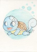 Carapuce/Squirtle by Chenchila