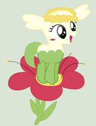 Flabebe as a Mlp by coco-swirl
