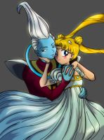 Whis and Serenity by Aznara