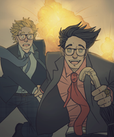 Kingsman Good Omens by Kogla