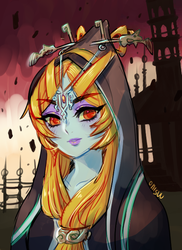 twilight princess - midna by onisuu