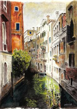 Venice Reflections by SRussellart