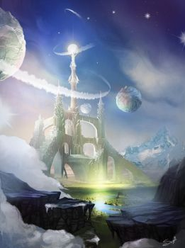 Sky temple by serjio-c