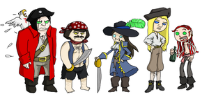 Commission - PIRATES by ftw302