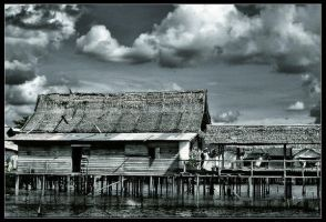 House on The Water by indonesia