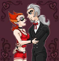 Vlad x Spectra in Rose love by kaitlynrager