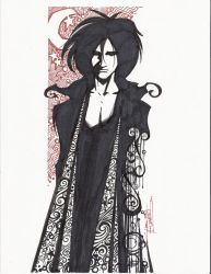 sketchy. The Sandman by KidNotorious