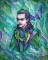 God of Mischief by DaryaSpace
