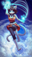 Comm: Sky magic by Teumes