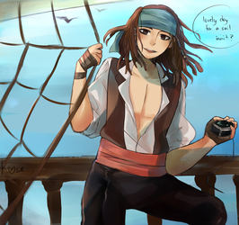 Young Jack Sparrow by RoseDraconite
