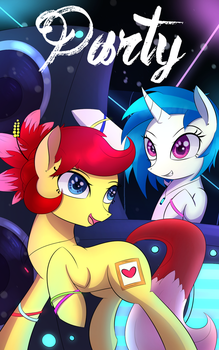 Party by Laptop-pone