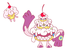 Cake Fakemon by Toldentops