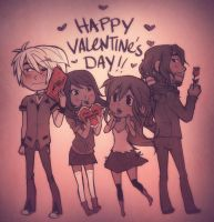 valentine's day 2014 by hchan