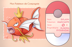 [Z] Splash - Pokemon de compagnie by Buttea