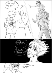 Sketch- Sisters: A Tale of Two Daughters Pt2 by ARSONicARTZ