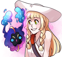Nebby and Lillie by Scarletify