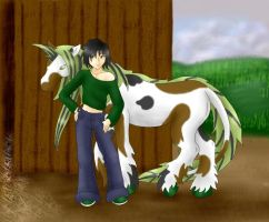 Remy with Terra by garney
