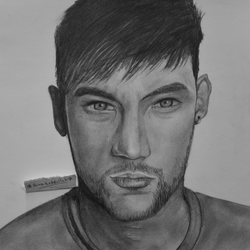 My drawing of #Neymar by TaKa-No-Mi