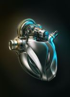 Heart Engine A by AleksCG